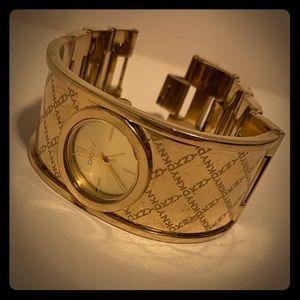 Women's DKNY Golden Watch Bracelet